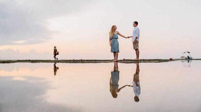 bali honeymoon photography in sanur