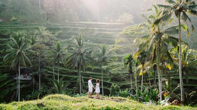 bali honeymoon photoshoot