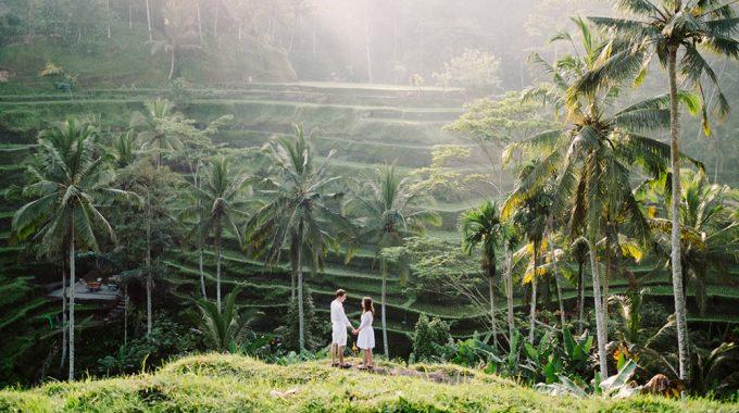bali honeymoon photoshoot