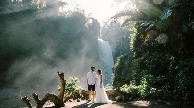 bali honeymoon shoot