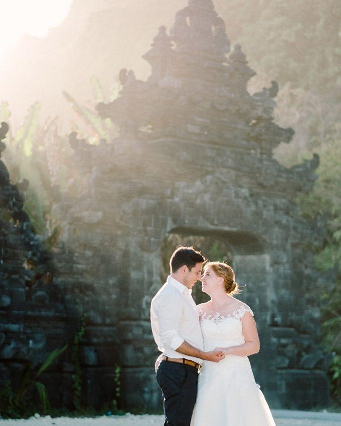 bali post wedding photography