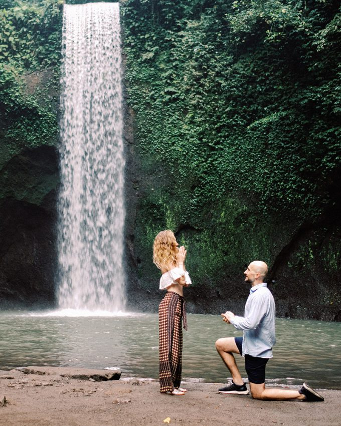 bali surprise proposal photography