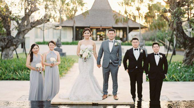 bali wedding photography at the royal santrian