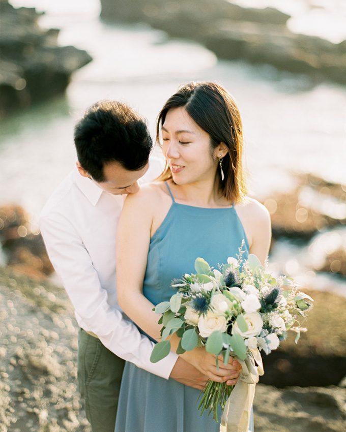 canggu bali engagement photography