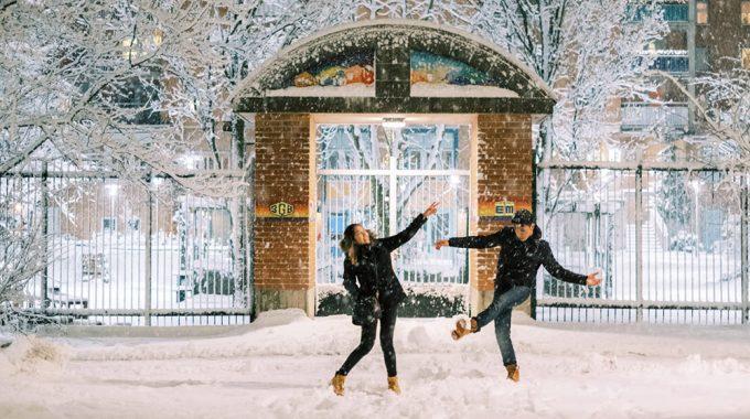 stockholm snow sweden winter