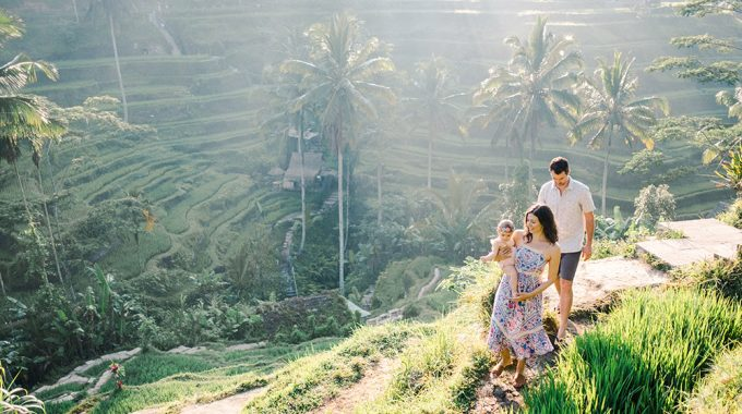 family photography in ubud