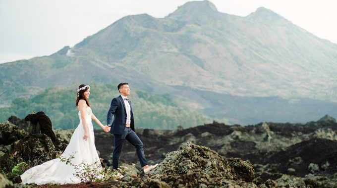 full day bali pre wedding photography