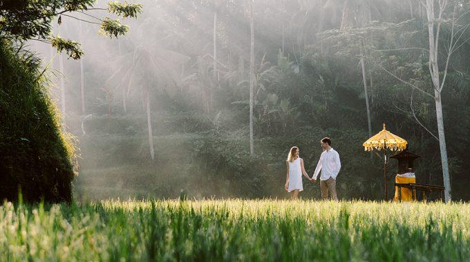 honeymoon photography in ubud bali