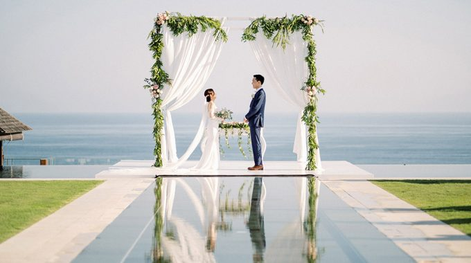 korean wedding in bali