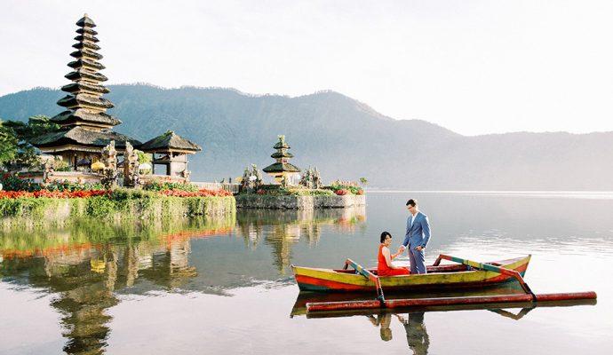 lake beratan temple pre wedding