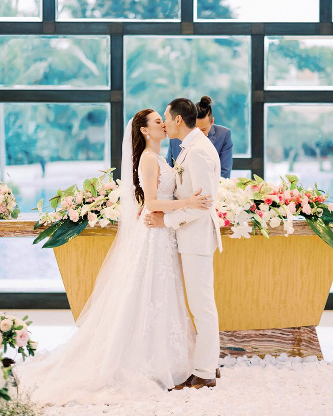 the mulia bali wedding