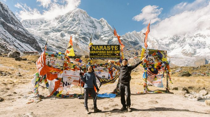 nepal annapurna base camp 2019