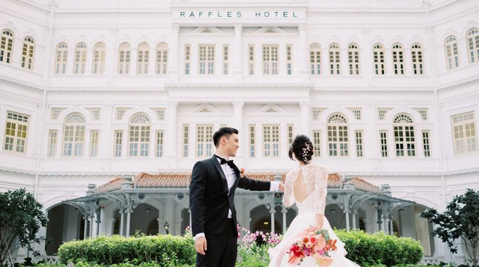 raffles hotel singapore wedding