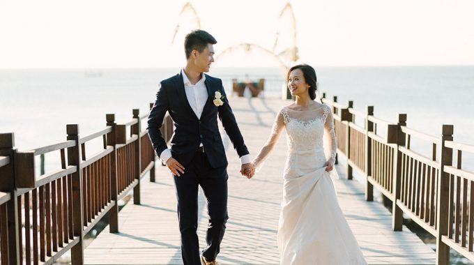 romantic bali elopement photography