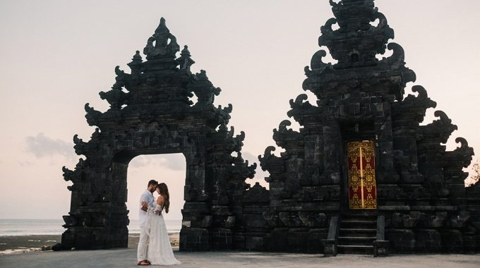 romantic bali honeymoon photography