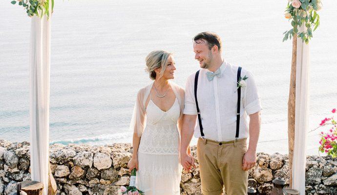 Sol y Mar Bali Cliff Top Wedding