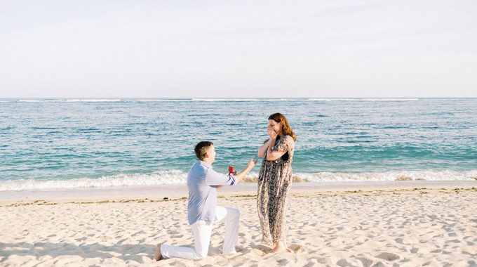 st regis bali dinner proposal