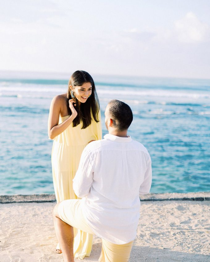 surprise proposal in bali