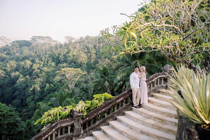ubud honeymoon resort photoshoot