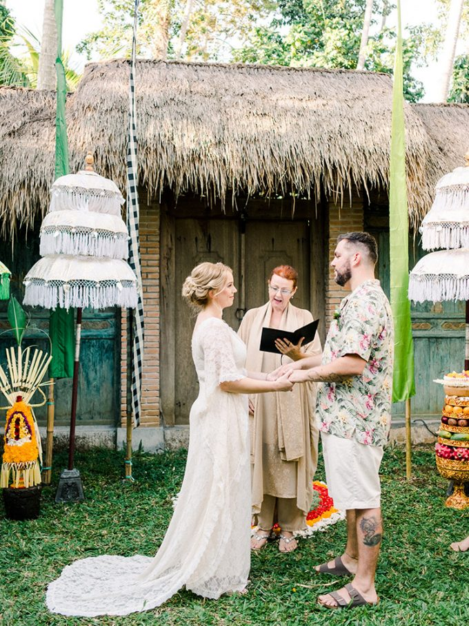 Ubud Villa Wedding