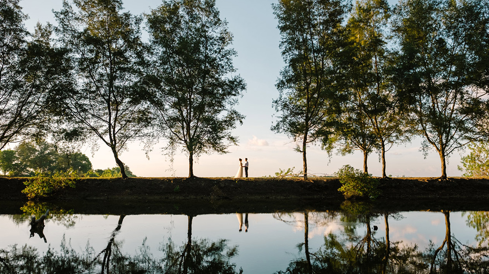 Cathy Rob Serangan Island Bali Pre Wedding Shoot Gusmank