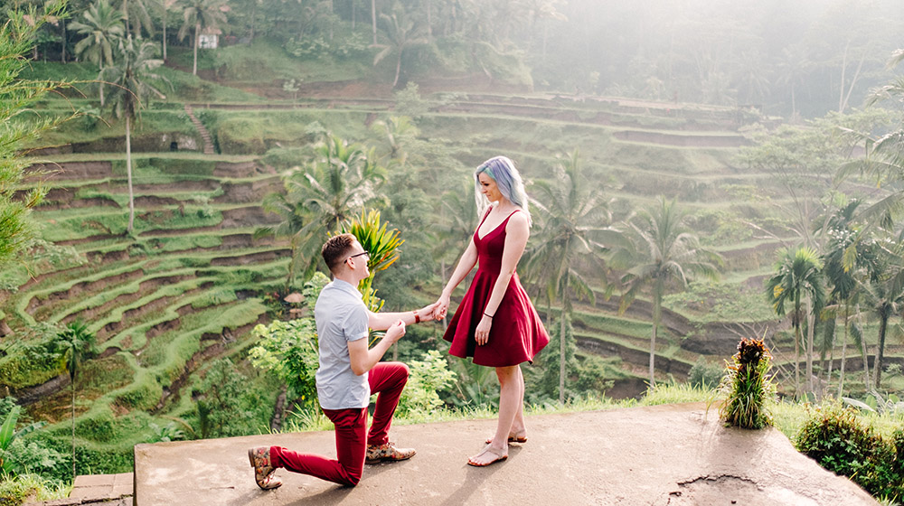 Gusmank photography bali wedding photographer for Most romantic place to get married